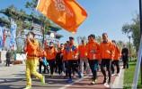 """图集:城市徒步公益项目""""爱·行走""""(I Walk)启动仪式"""