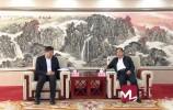 视频 | 孙立成会见国网山东省电力公司董事长、党委书记蒋斌一行