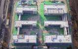 """""""双E""""型教学楼主体建成 西客站片区再添一所九年一贯制学校"""
