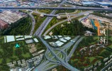 济南零点立交拟拆除新建!将成14条匝道的涡轮型枢纽互通立交