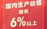 6%以上!今年GDP增长目标设定