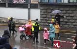 济南交警加大对学校门口机动车不礼让斑马线等违法行为整治力度?
