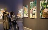 """感受生命和爱丨""""闫平 · 万簇生成""""艺术展在山东美术馆开幕"""