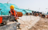 致敬勞動者:濟南起步區的一線建設者
