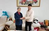 濟南耄耋老人不忘黨恩 大額黨費獻禮百年華誕