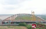 視頻 | 齊魯黃河大橋拱肋架設完成
