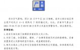 陣風7級!濟南市發布大風藍色預警信號