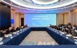 """2021亚信金融峰会""""落实黄河重大国家战略 打造区域金融中心""""座谈会举行 陈元讲话"""