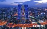 中国最高的空中苏式园林:苏州东方之门