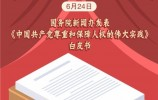 《中国共产党尊重和保障人权的伟大实践》发布