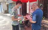 济南市天桥区华黎社区居委会对商铺宣传垃圾分类