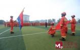 山东消防第二批增援来了 最先进排涝车驰援河南