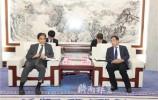 孫立成會見日本駐華大使垂秀夫