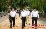 濟南城管檢查泉城廣場周邊環衛設施和環境整治情況 促市容品質再提升
