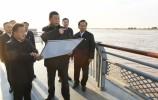 习近平在山东东营考察黄河入海口