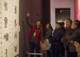 济南:全国第十二届书法篆刻展览篆书篆刻刻字展举办