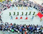 为祖国祝福 为梦想奋斗,山东各地国庆活动热潮持续