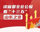"""读省委全会公报,看""""十三五""""山东之变"""