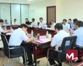 省委党史学习教育第一巡回指导组在济南召开党史学习教育工作会议