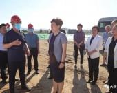 钢城区委书记郅颂调研全区交通建设重点项目