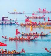 【网络中国节·端午】汉江龙舟赛