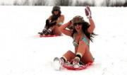 帅哥美女去滑雪,结果...