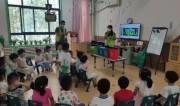 大手拉小手,东风街道上海花园社区垃圾分类宣传进幼儿园