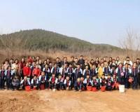 """愛護環境從娃娃抓起 山師學生舉行""""為世界添一點綠""""主題活動"""