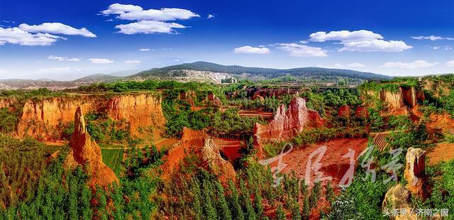 咱济南可能还有人不知道 平阴县有条土林沟 还很壮观