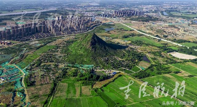 《航拍济南》济南华山 正在打造一幅现代版《鹊华秋色图》
