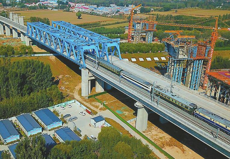 石济高铁齐河至济南段联调联试 年底与济青高铁同步开通