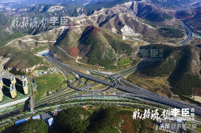 济南最大的立交桥在哪 无人机告诉您他有多壮观