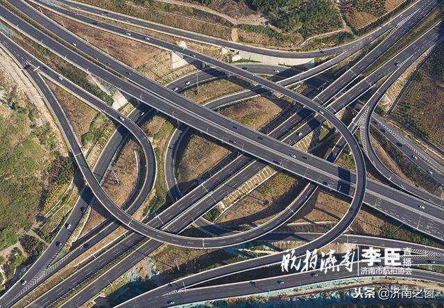 濟南最大的立交橋在哪 無人機告訴您他有多壯觀