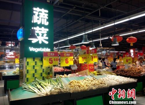 物价资料图。<a target='_blank' href='http://www.chinanews.com/' >中新网</a>记者 李金磊 摄