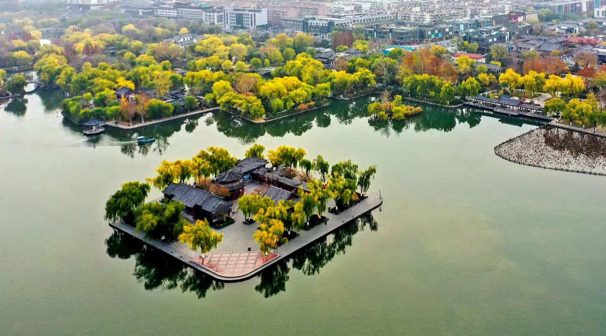 大明湖冬2