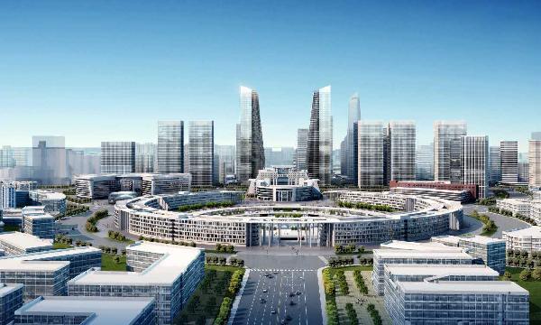 济南高新区中心区规划图