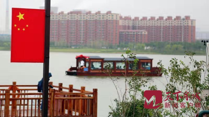 华山湖游船正式通航