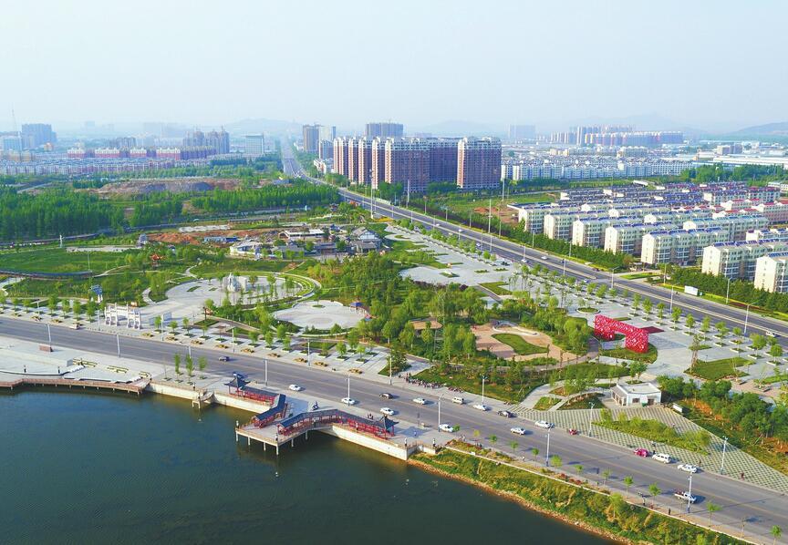 """萊蕪高新區""""深入推進城市再提升行動"""" 城市面貌發生了質的提升"""