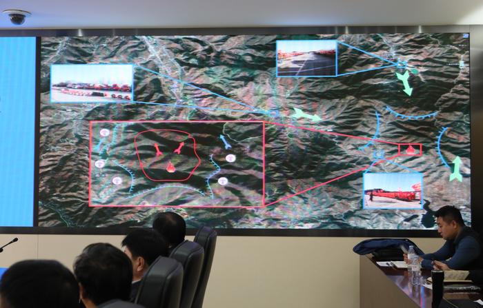 聯席會+桌面推演 濟南應急完善森林火災處置機制