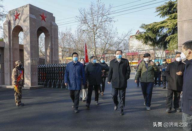 济南市退役军人事务局潘传利看望系统防疫一线人员