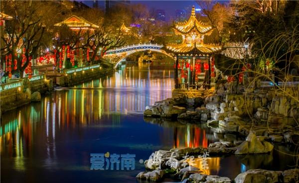 乘船夜游济南护城河还得等等,白天已通航,暂只开放两个码头