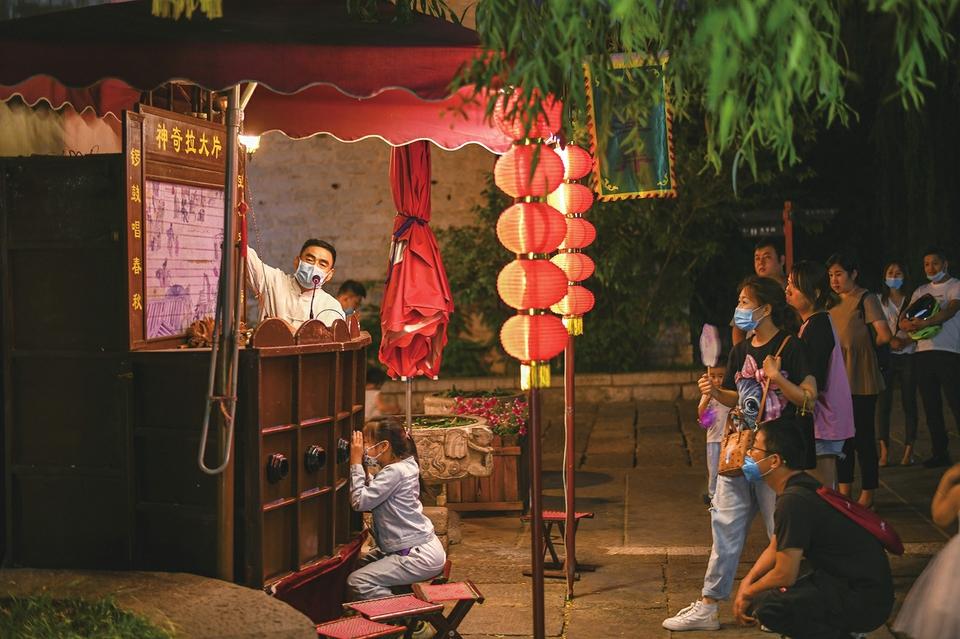 """打造""""夜泉城""""2.0版!济南推出一系列举措提质升级夜经济 适度放开地摊夜市 允许限时占道经营"""
