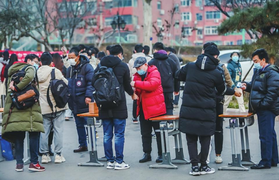 2021年全国硕士研究生招生考试开考 多所驻鲁高校增加研究生招生计划