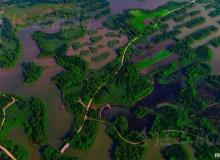 《航拍济南》济南有个千岛湖 您真不知有多美