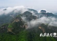 雨后濟南南部山區出現平流霧 美景賽過張家界