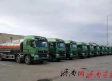 大发红黑行业 首批丨中国重汽国六HOWO-T5G危化品运输车交付胜利油田