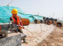 致敬劳动者:济南起步区的一线建设者