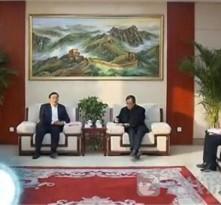 王忠林走访慰问企业、劳模和困难职工
