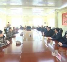 市领导春节前夕走访慰问驻济部队