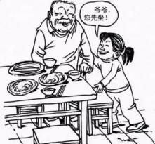 文明餐桌禮儀知多少